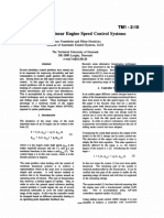 1994_Advanced Nonlinear Engine Speed Control Systems