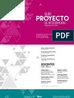 Guía Proyecto de Integración, segundo semestre 2017, Universidad San Carlos de Guatemala, Diseño Gráfico.