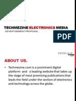 TMZ Techmezine Electronics Media V1