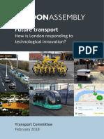 Future Transport Report - Final
