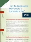 Curso Ley Federal Sobre Metrología y Normalización
