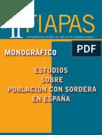 Monografico Estudio Sobre Poblacion Con Sordera en Espana