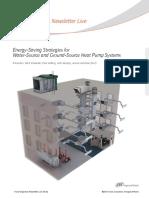 Energy Saving Strategies for WSHP