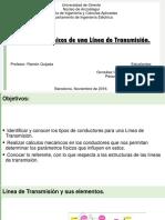 Aspectos Mecánicos de Una Línea de Transmisión (I)