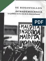 Rosanvallon - La Contrademocracia