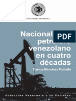 Nacionalismo Petrolero en 4 Décadas