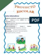Proyectos Escolares Juegos 2017-2018