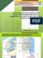 Presentacion Tecnicas Avaluatorias-Parroquia CACIQUE MARA