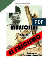 Mussolini Define El Fascismo (MNSTCH)[1]