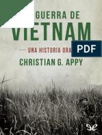 Appy, Christian G. - La Guerra de Vietnam
