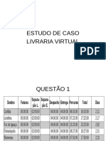 Estudo de Caso Livraria Virutal