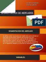 diapositivas segmentacion