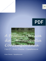 Nympheaceae Homeopathy