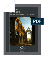 La Muerte de La Cultura Cristiana