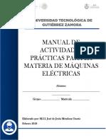 Manual de Actividades Prácticas Máquinas Eléctricas