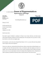 Bill Hager letter to Rick Scott calling for Scott Israel resignation