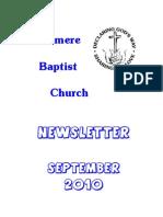 Sep 2010 Rushmere Baptist Church Newsletter