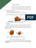 Ejercicio de La Segunda Ley de Newton