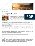 The Origins of Sufism