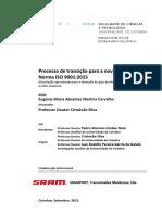 Processo de Transicao Para a Nova Revisao Da Norma ISO 9001_2015