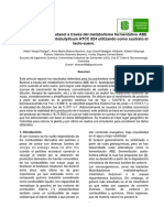 Producción de N-Butanol a Través Del Metabolismo Fermentativo ABE Del Clostridium Acetobutylicum ATCC 824 Utilizando Como Sustrato El Lacto-suero.