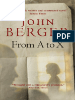 Berger, John - From a to X (Verso, 2008)