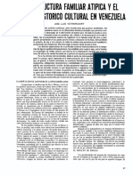 Vethencourt La Estructura Familiar Atípica