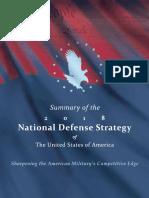 2018 National Defense Strategy Summary