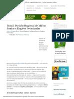 Brasil_ Divisão Regional de Milton Santos e Regiões Polarizadas _ InfoEnem