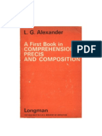 A First Book in Comprehension