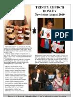 Aug 2010 Tinity Church Honley Newsletter