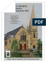 Sep 2010 Tinity Church Honley Newsletter