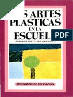 LIBRO_ Las Artes Plásticas en La Escuela