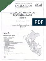 Simulacro Presencial - San Marcos 2018-I Area A.pdf