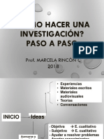 Idea de Investigacion