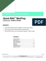 Quick-RNA™ MiniPrep
