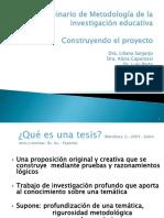 Z- Seminario de Metodología de Investigación- Construyendo El Proyecto - 2014 en Blanco