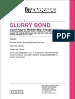 Slurry Bond