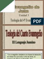 El Evangelio Según San Juan UNIDAD 3