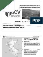 Sesión 1 - HIDROLOGÍA - Hidrología en el Perú.pdf