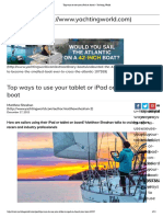 Top Ways to Use Your iPad on Board – Yachting World