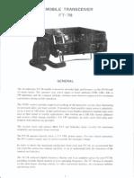 Yaesu FT-7B Instruction Manual