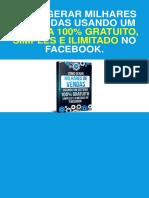 Facebook Marketing Estratégias Para Vender Pelo Facebook PDF