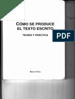 Como Se Produce El Tex to Escrito