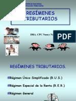 Regimenes Tributarios - Completo