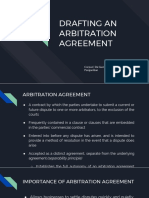 Drafting an Arbitration Agreement