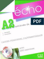 Echo A2 Cahier