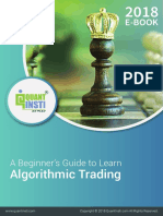Introduction to Algo Trading