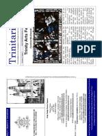 Easter 2009 Trinitarian Newsletter, Holy Trinity Sloane Square