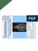 October 2009 Trinitarian Newsletter, Holy Trinity Sloane Square